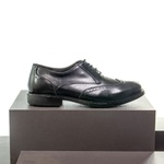 Sapato Casual Masculino Oxford Brogue Mood Transit Preto