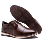 Sapato Derby Wood Capuccino