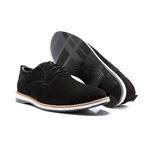 Sapato Derby Tobin Camurça Preto