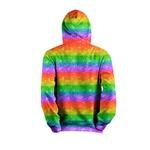 Moletom LGBT Glitter Full Print 3d Use Nerd Copia