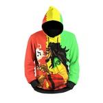 Moletom Bob Marley Full Print 3d Use Nerd