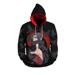 Moletom Itachi Uchiha Full Print 3d Use Nerd