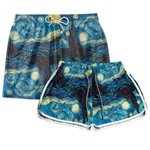 Kit Short Casal Oceania