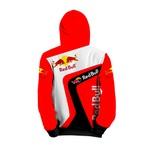 Moletom Red Bull Full Print 3d Use Nerd Branco