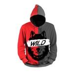 Moletom Wild Wolf Lobo Full Print 3d Use Nerd