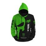 Moletom Fox Motocross Trilha Full Print 3d Use Nerd