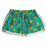 Short De Praia Estampado Feminino Simpsons Use Nerd