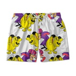 Short De Praia Estampado Mutley Use Nerd