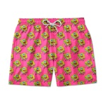 Short Praia Estampado Bob Esponja Rosa Use Nerd