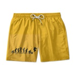Short Praia Estampado Cs Gol Use Nerd
