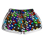 Short Praia Estampado Feminino Among Us Use Nerd