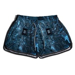 Short Praia Estampado Feminino Hardware Use Nerd