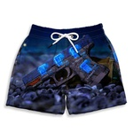Short Praia Estampado Infantil C.S Gol Use Nerd