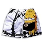 Short Praia Estampado Infantil Homer Simpsons Use Nerd