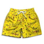 Short Praia Estampado Infantil Pikachu Use Nerd