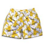 Short Praia Estampado Infantil Pikachu Use Nerd