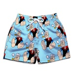 Short Praia Estampado Infantil Popeye Use Nerd