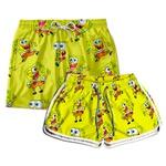 Kit Shorts Casal Masculino e Feminino Bob Use Thuco