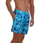 Short Praia Masculino Rosas Azul Use Thuco