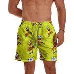 Short Praia Masculino Bob Amarelo Use Thuco