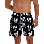 Short Praia Masculino Mk Caras Use Thuco
