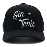 Boné Aba Curva Use Thuco Gin + Tonic - Preto - Estilo Trucker