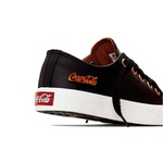 Tênis Coca Cola Blend Leather - Couro Preto