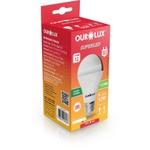 LAMPADA LED BULBO 12W BIVOLT 6500K BRANCO FRIO-OUROLUX