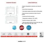 LED REFLETOR SLIM 50W 6500K BRANCO FRIO BIVOLT-AVANT