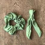 Scrunchie Verde