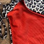 Calcinha De Biquíni Retrô Dupla Face Plus Size Canelado Terra Com Oncinha