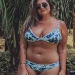 Biquíni Plus Size Boho Beach Mykonos