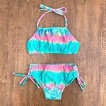Biquíni Infantil Tie Dye Vibes