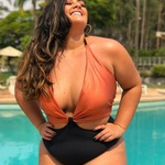 Smart Body Plus Size Areia e Preto