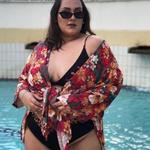 Kimono Plus Size Liz Madri