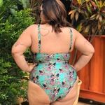 Body Clássico Plus Size Tucano Verde