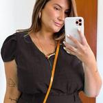 Blusa Bruna Plus Size Preto