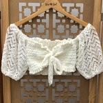 Cropped Bia Boho Off White
