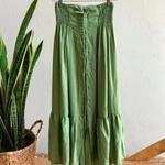 Saia Maya Plus Size Verde Claro