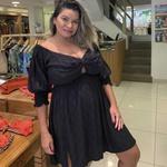 Vestido Essência Plus Size Preto