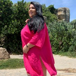 Kimono Plus Size Liz Pink