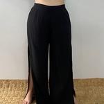 Calça Pantalona Eva Plus Size Preta