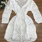 Kimono Tricot Branco Gipsy