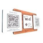 Placa De Sinalização | Uso de Wi-Fi e PIX