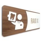 Placa De Sinalização | Raio-X - MDF 15x13cm
