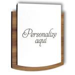 Placa De Sinalização - Personalizada | Linha Petit