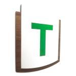 Placa De Sinalização | Indicação - Térreo