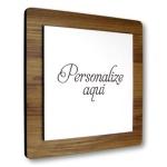 Placa De Sinalização - Personalizada | Linha Square