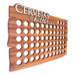 Quadro Decorativo Porta Tampinhas | para até 69 Un.