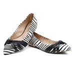 Sapatilha Violanta Bimbo Zebra Preta